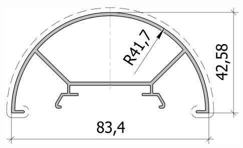 Малый столб произвольного угла FS.C-07