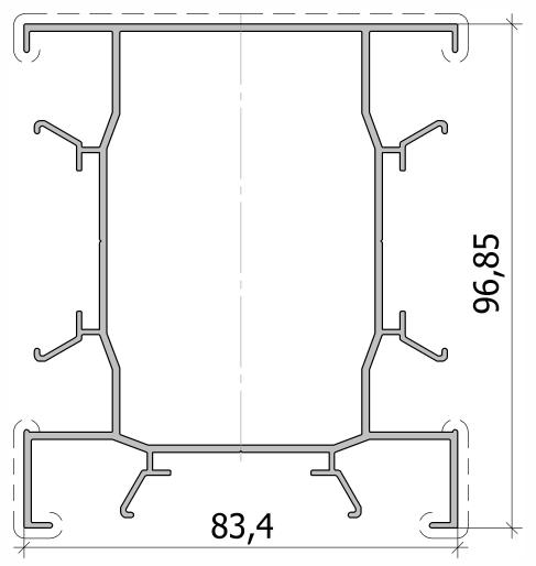 Столб Т-образного соединения FS.C-04