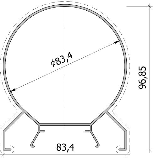 Столб произвольного угла FS.C-05