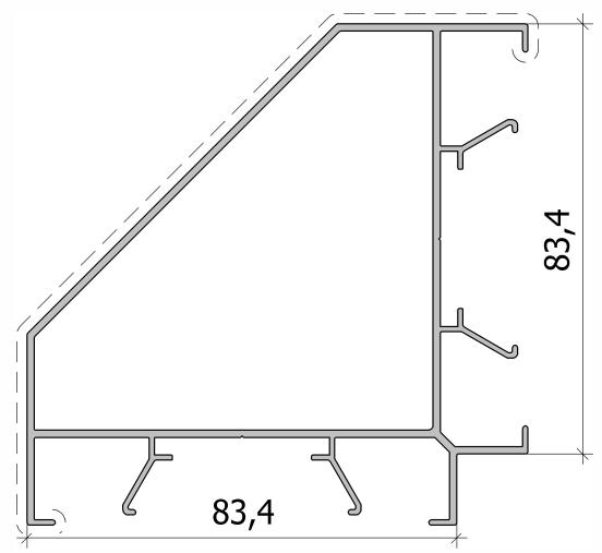 Угловой столб - грань FS.C-03