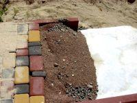 Геотекстиль Геоком для укладки тротуарной плитки