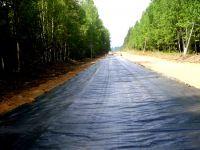 Геотекстиль Геоком при строительстве автодорог