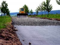 Геотекстиль Тайпар в дорожном строительстве