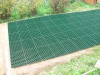 Газонная решетка (зелёная)