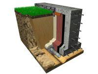 Изостуд ГЕО для гидроизоляции стен подвалов и дренажа